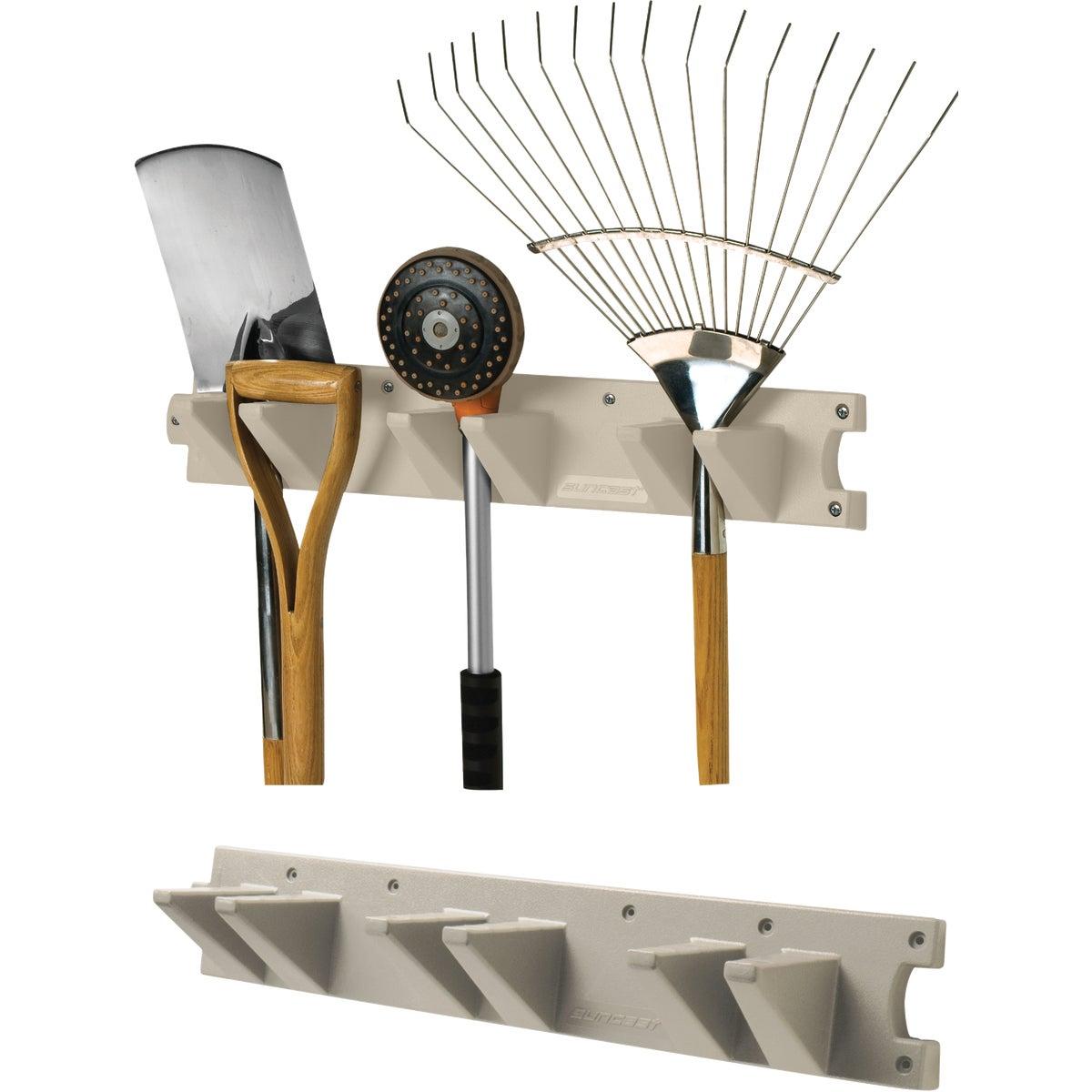 Suncast 2' Tool Hanger Long Handle Tool Rack, V724
