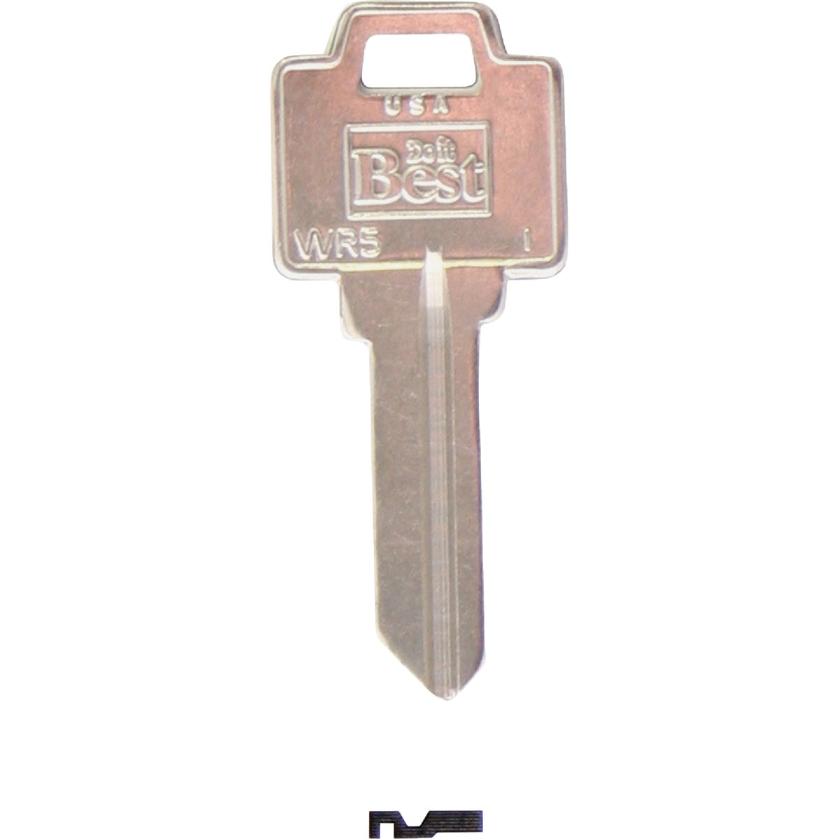 WR5 DIB WEISER DOOR KEY - N1054WB DIB by Ilco Corp