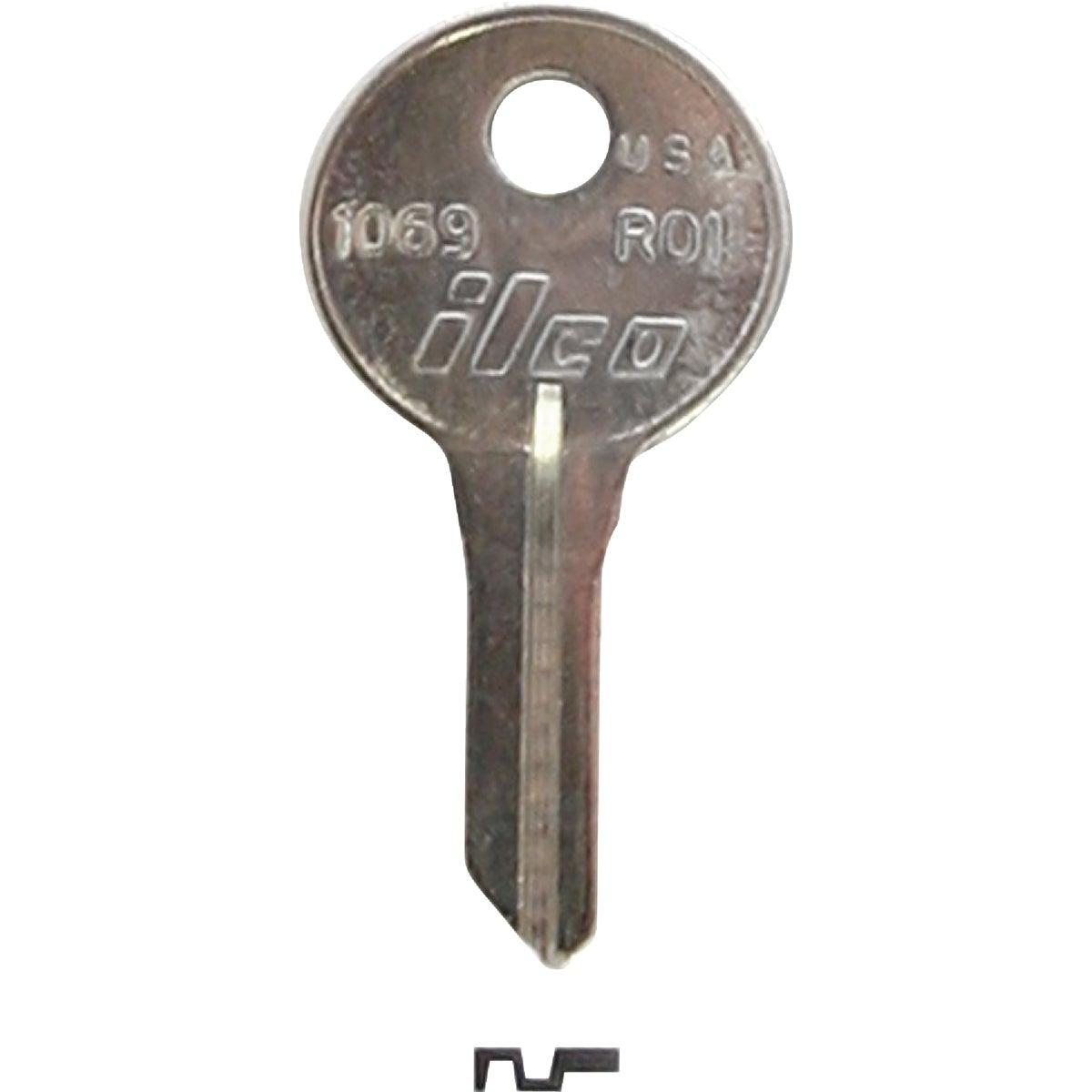 RO1 RUSSWIN CABINET KEY - 1069 by Ilco Corp