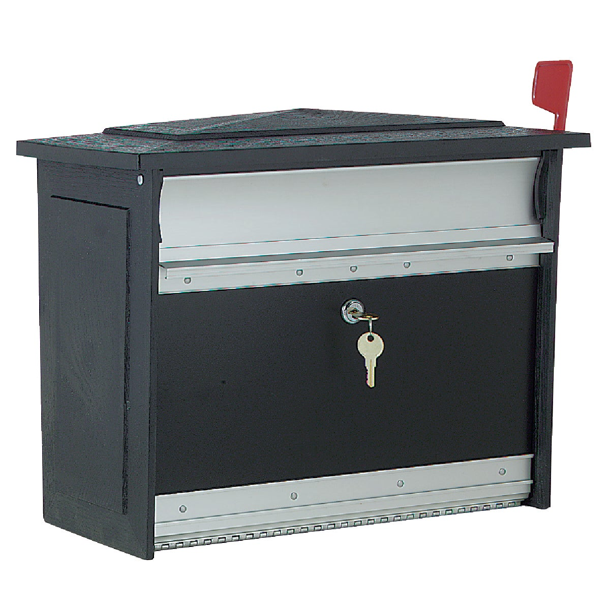 BLACK SECURITY MAILBOX - MSK by Solar Group