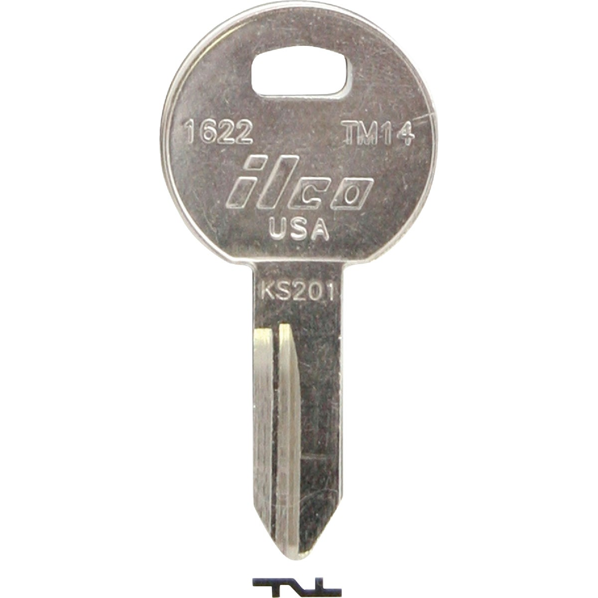TM14 TRIMRK TRUCK BX KEY - 1622 by Ilco Corp