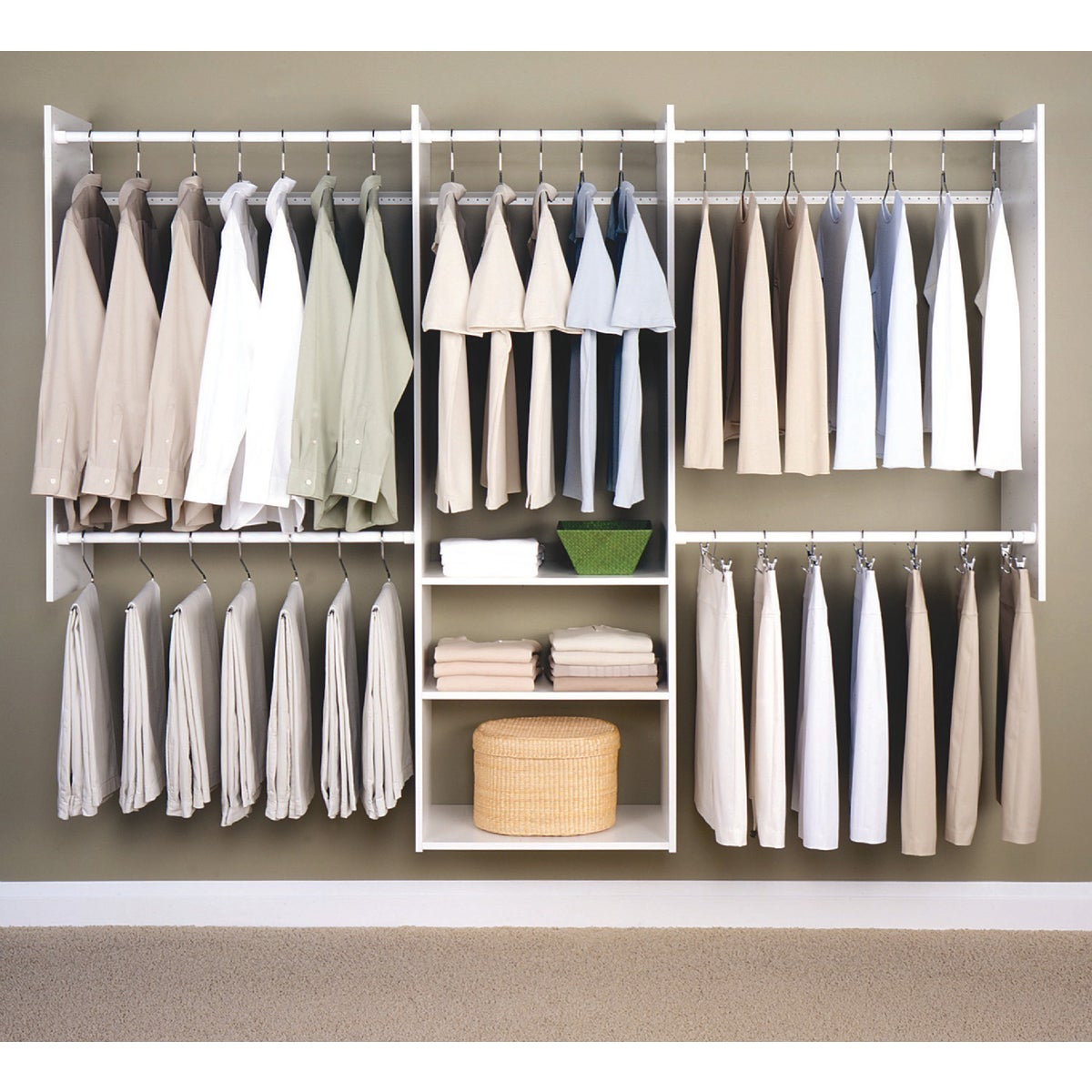 DELUXE STARTER CLOSET - RB1460 by The Stow Company