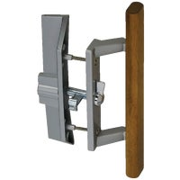 Wright Products-Hampton OAK PATIO DOOR LATCH VK1104