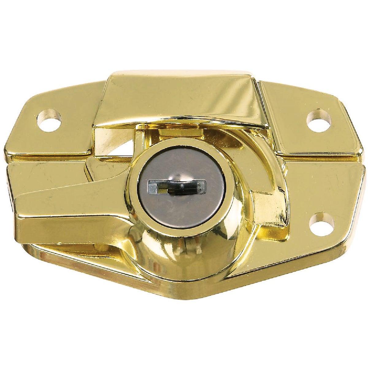 BRS KEYED SASH LOCK - N183723 by National Mfg Co