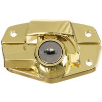 National Mfg. BRS KEYED SASH LOCK N183723