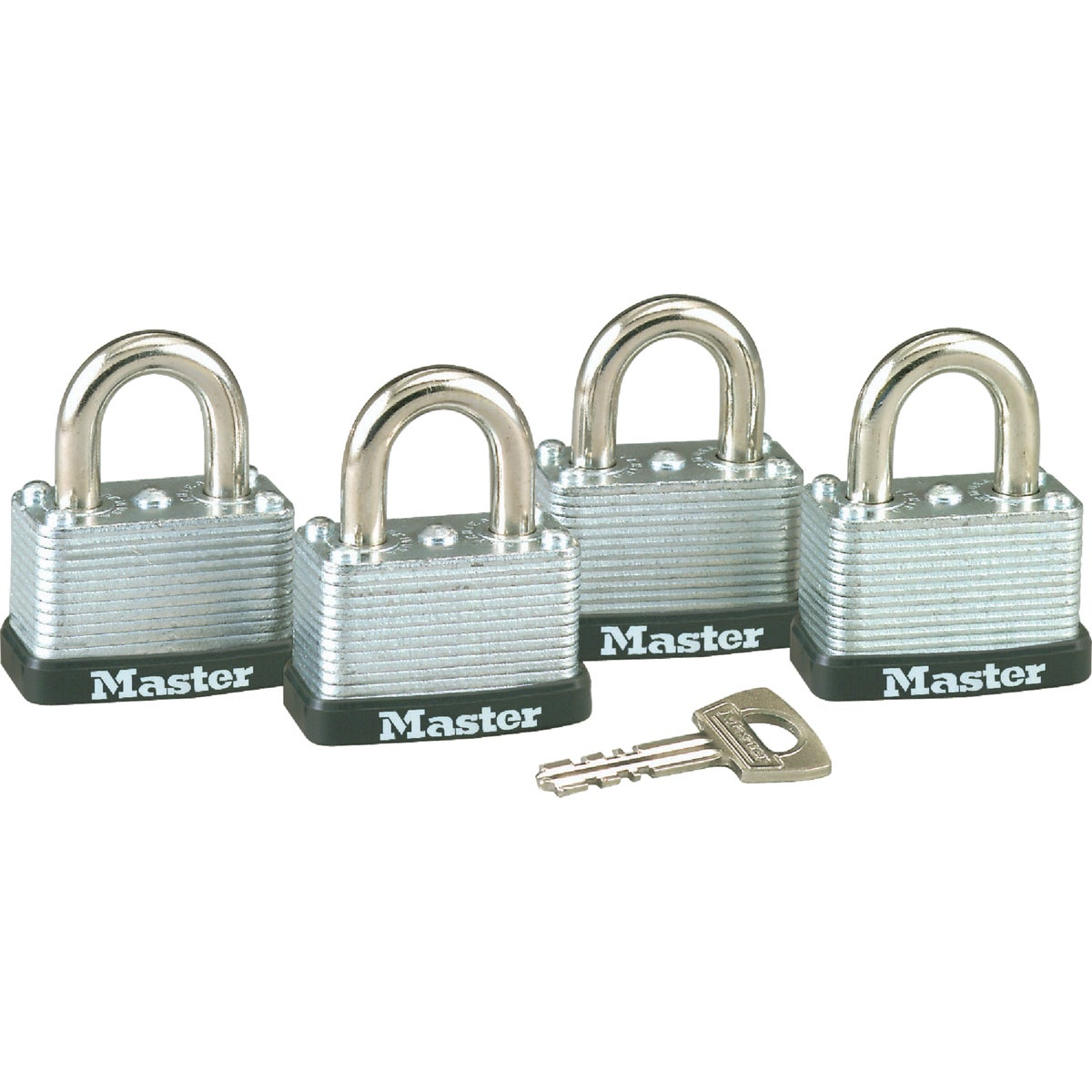 """4PK 1-1/2"""" PADLOCK - 3009D by Master Lock Company"""