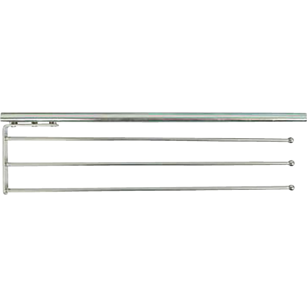 PULL-OUT TOWEL BAR - P-793-R-ANO by Knape & Vogt Mfg Co