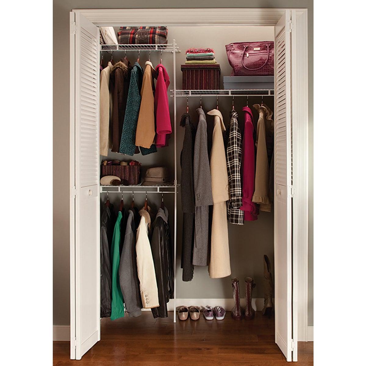 ClosetMaid 5' Shelf and Rod Closet System