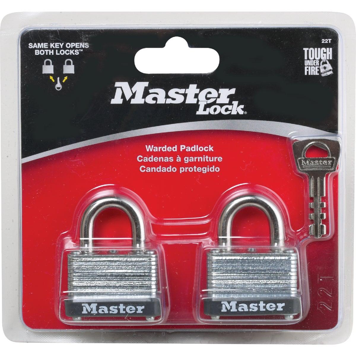 """2PK 1-1/2"""" PADLOCK - 22T by Master Lock Company"""