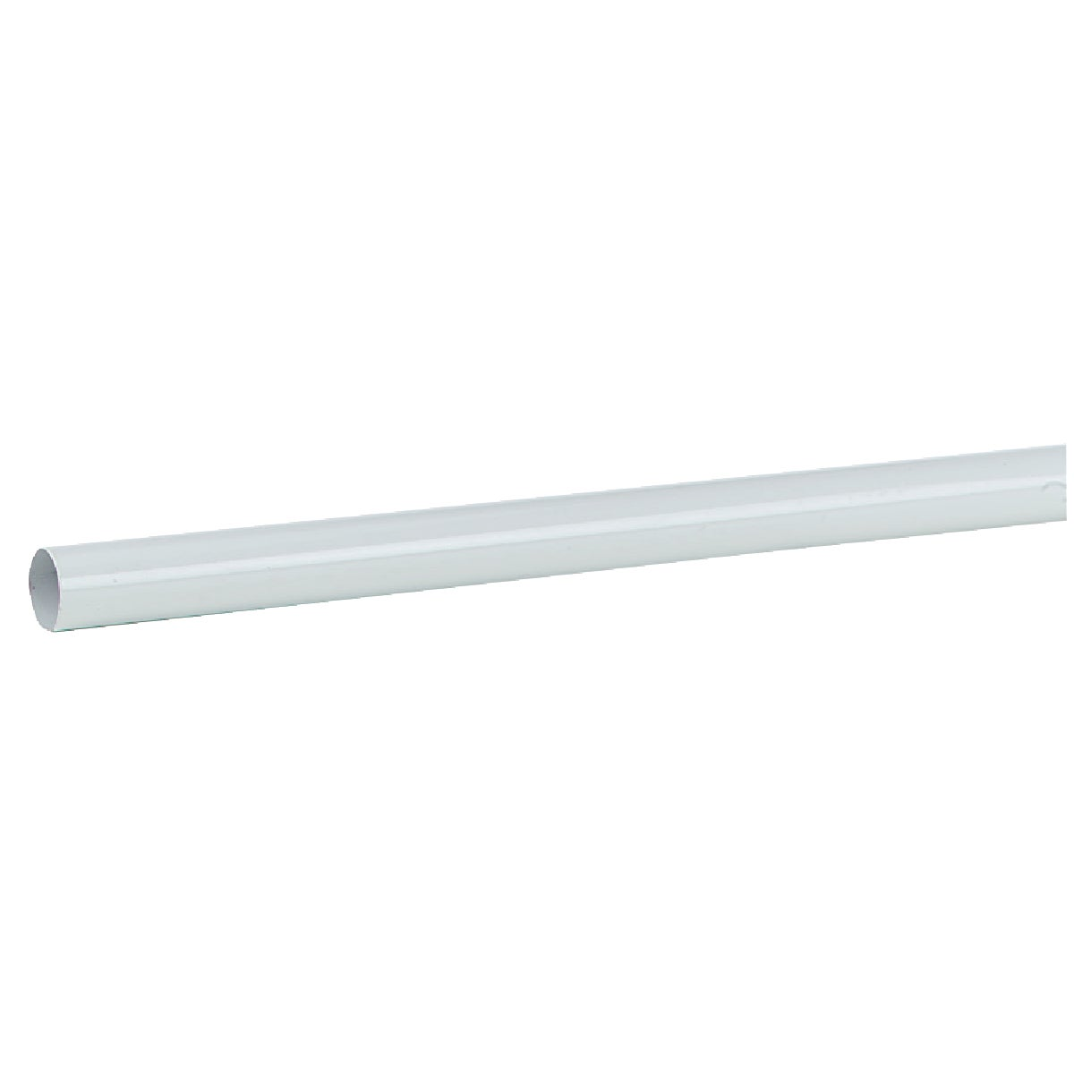 4' WHITE CLOSET POLE - 0018-4 by Knape & Vogt Mfg Co