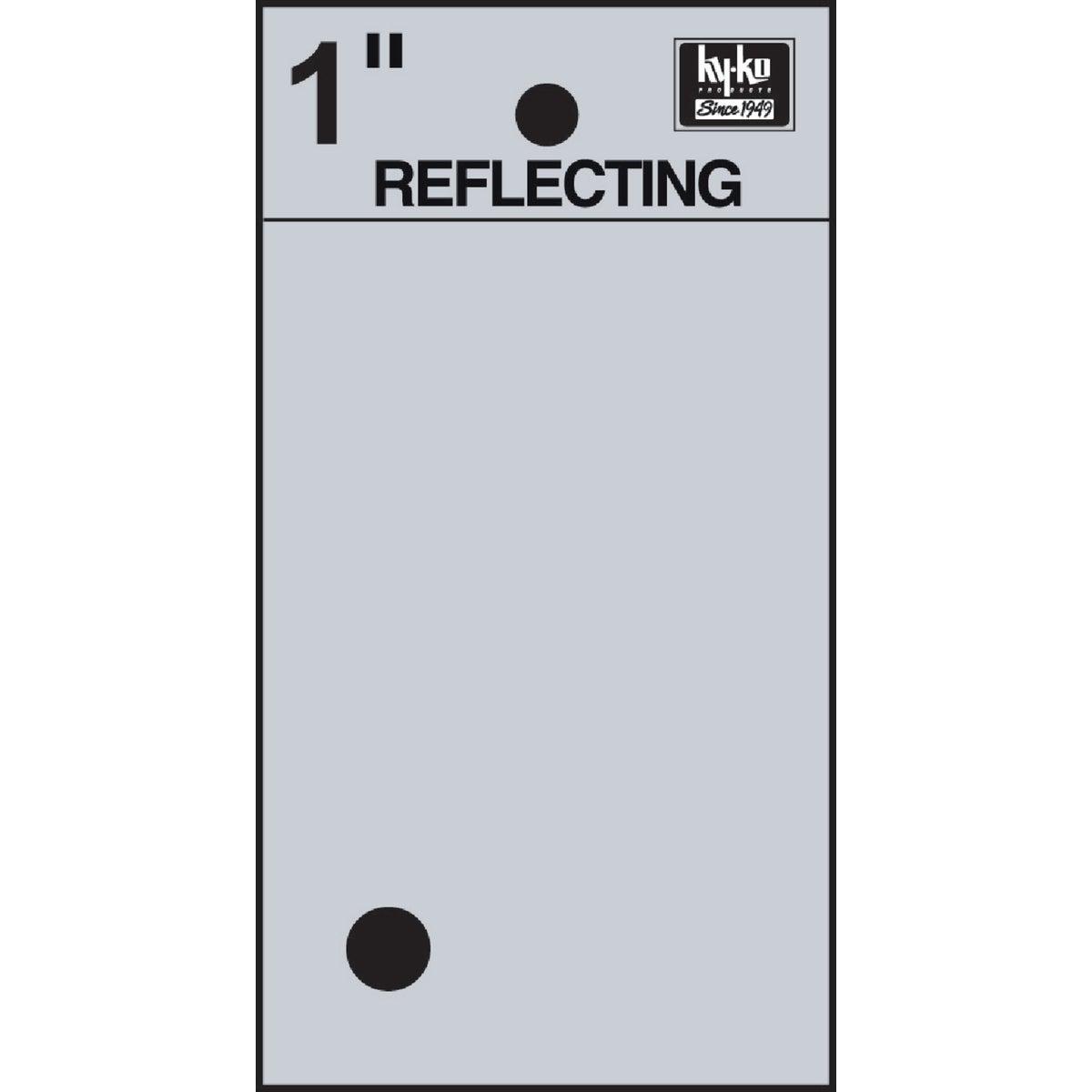 Hy-Ko 1 In. Vinyl Adhesive Symbol, Period