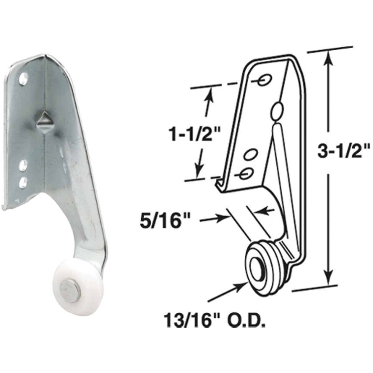 REAR ROLLER BRACKET - 223003 by Prime Line Products