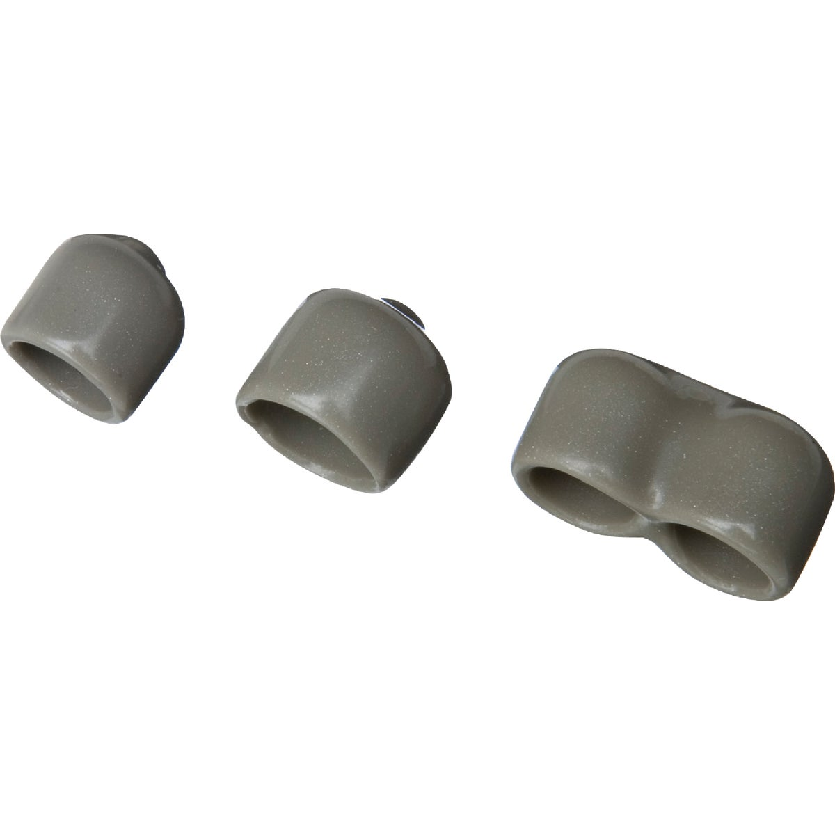 NICKEL PROFILE END CAPS
