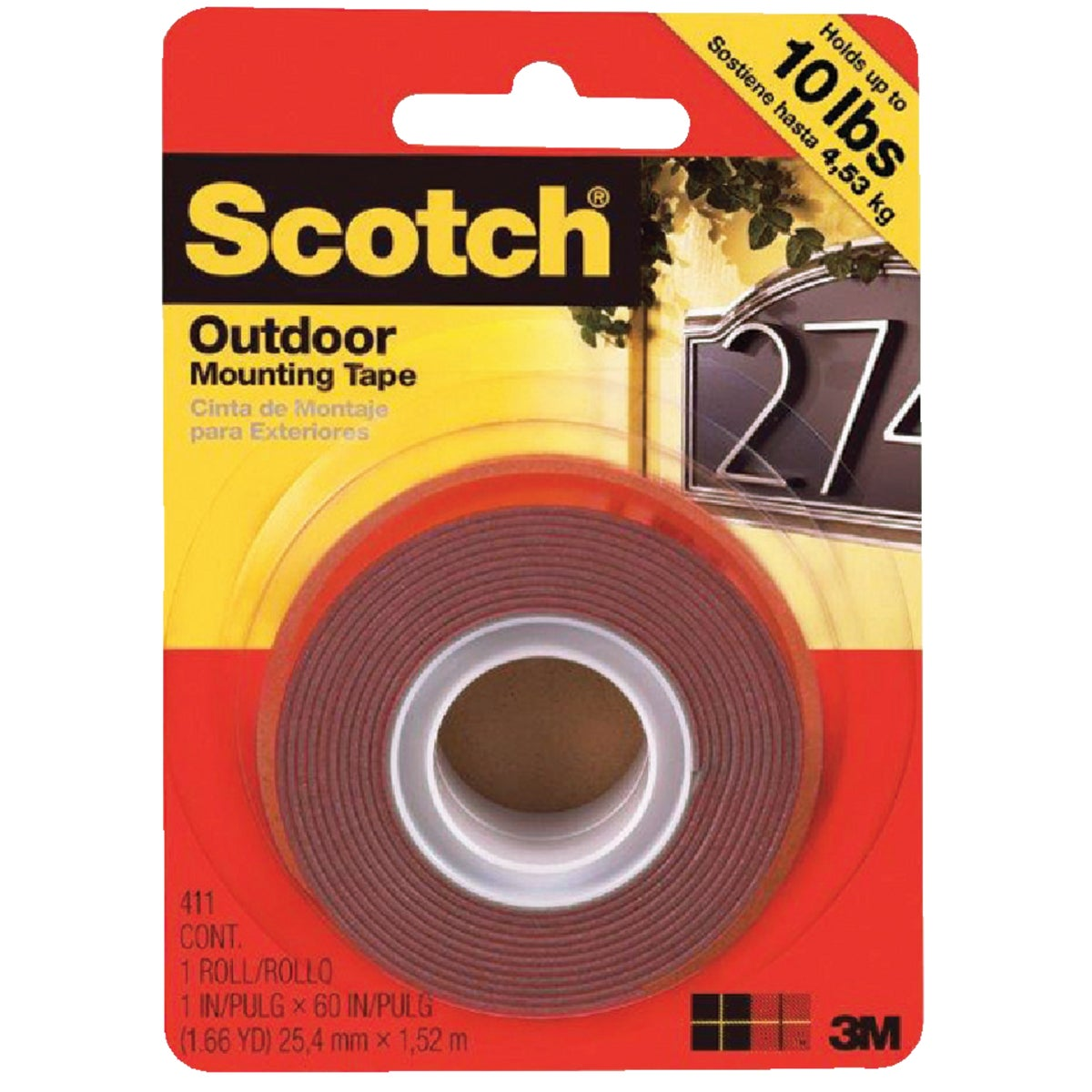 3M 1X50 H/D MOUNTING TAPE 316