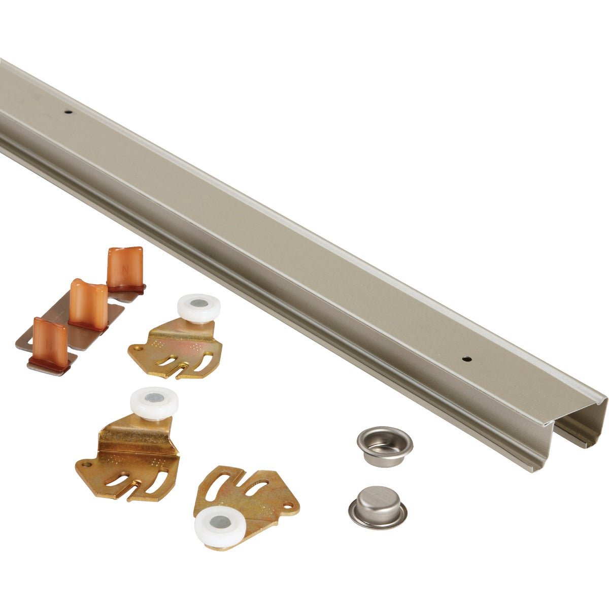 "48"" 2DR BYPASS HARDWARE - 1166G482 by Johnson Products"