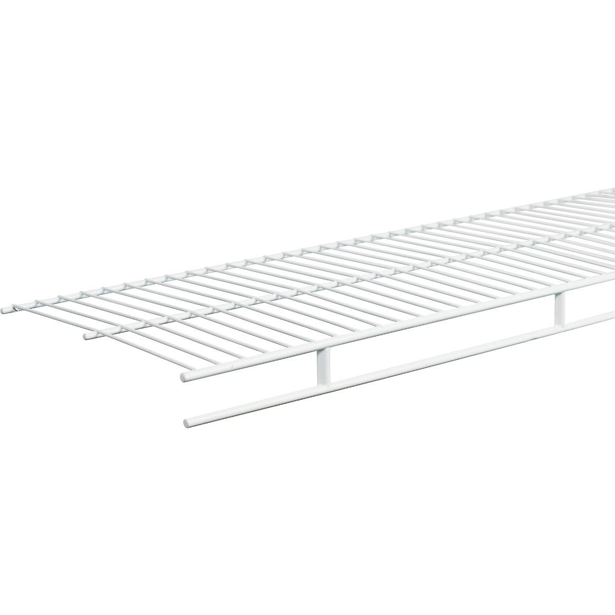 ClosetMaid 12 Ft. W. x 12 In. D. Contractor Pack Ventilated Shelf & Rod Closet Shelf, White (6-Pack)