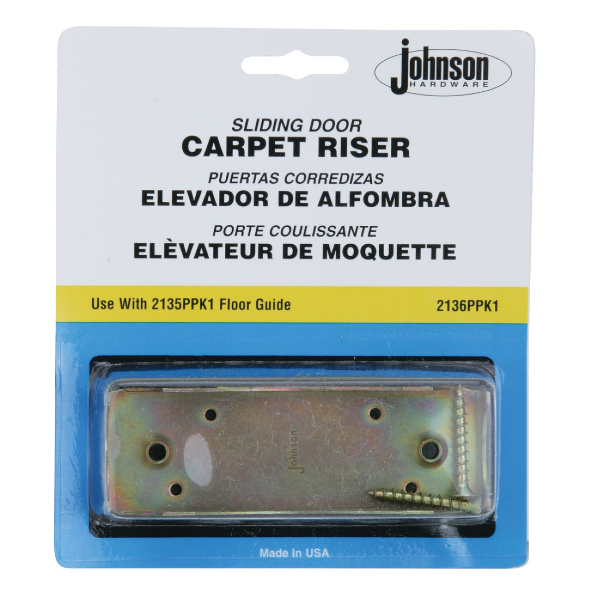 CARPET RISER - 2136PPK1 by Johnson Products