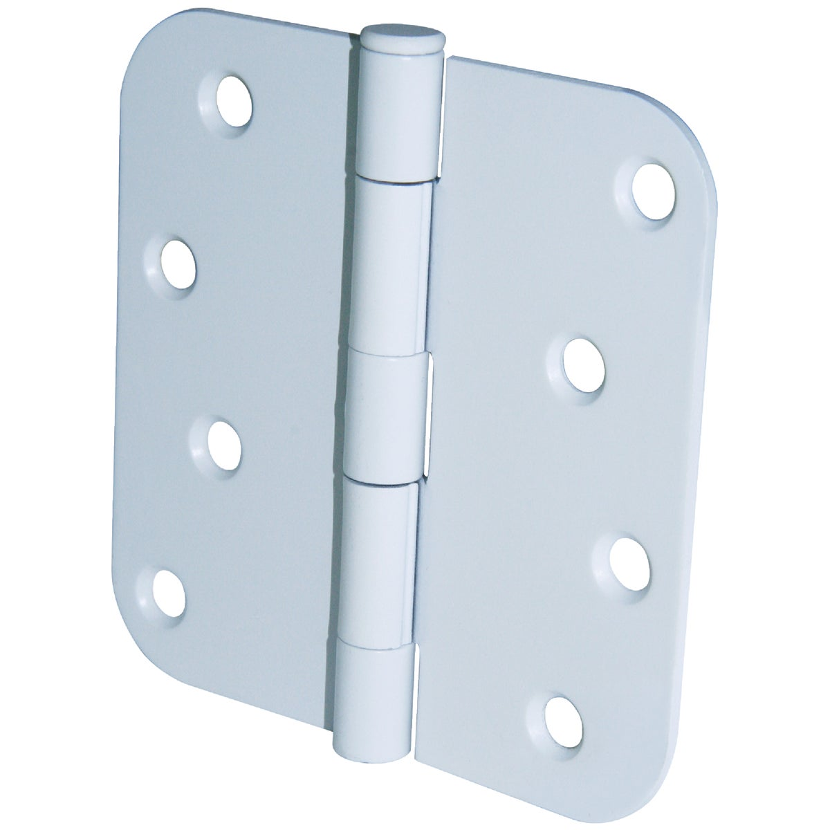 "4"" 5/8"" RAD WH 3PK HINGE - 61756 by Ultra Hardware"