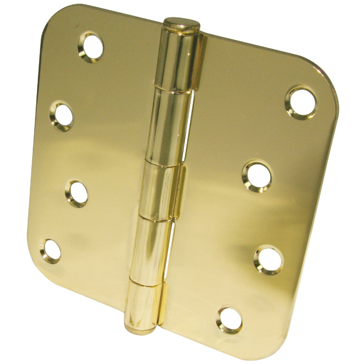"4"" 5/8"" RAD PB 3PK HINGE - 61750 by Ultra Hardware"