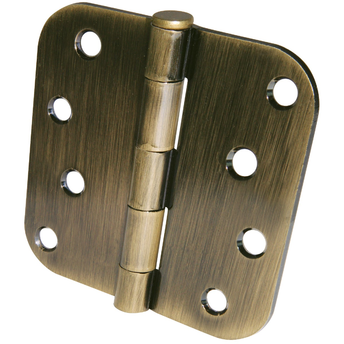 "4"" 5/8"" RAD AB 3PK HINGE - 61753 by Ultra Hardware"