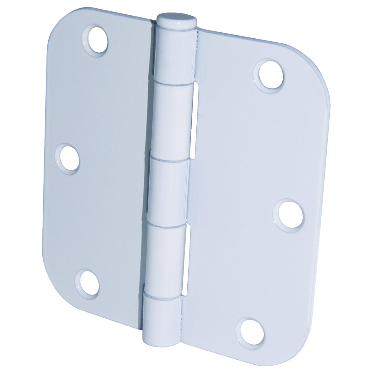 "3.5"" 5/8RAD WH 3PK HINGE - 61746 by Ultra Hardware"