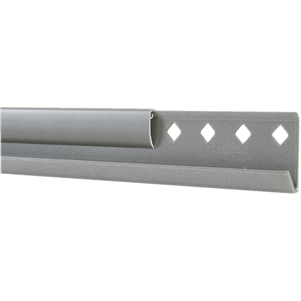 "80"" NICKEL HANGING RAIL - 7913448045 by Schulte Corp"