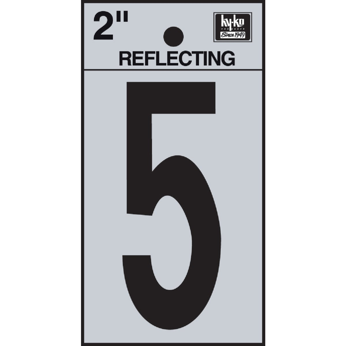 "2"" REFLECT NUMBER 5 - RV-25/5 by Hy Ko Prods Co"