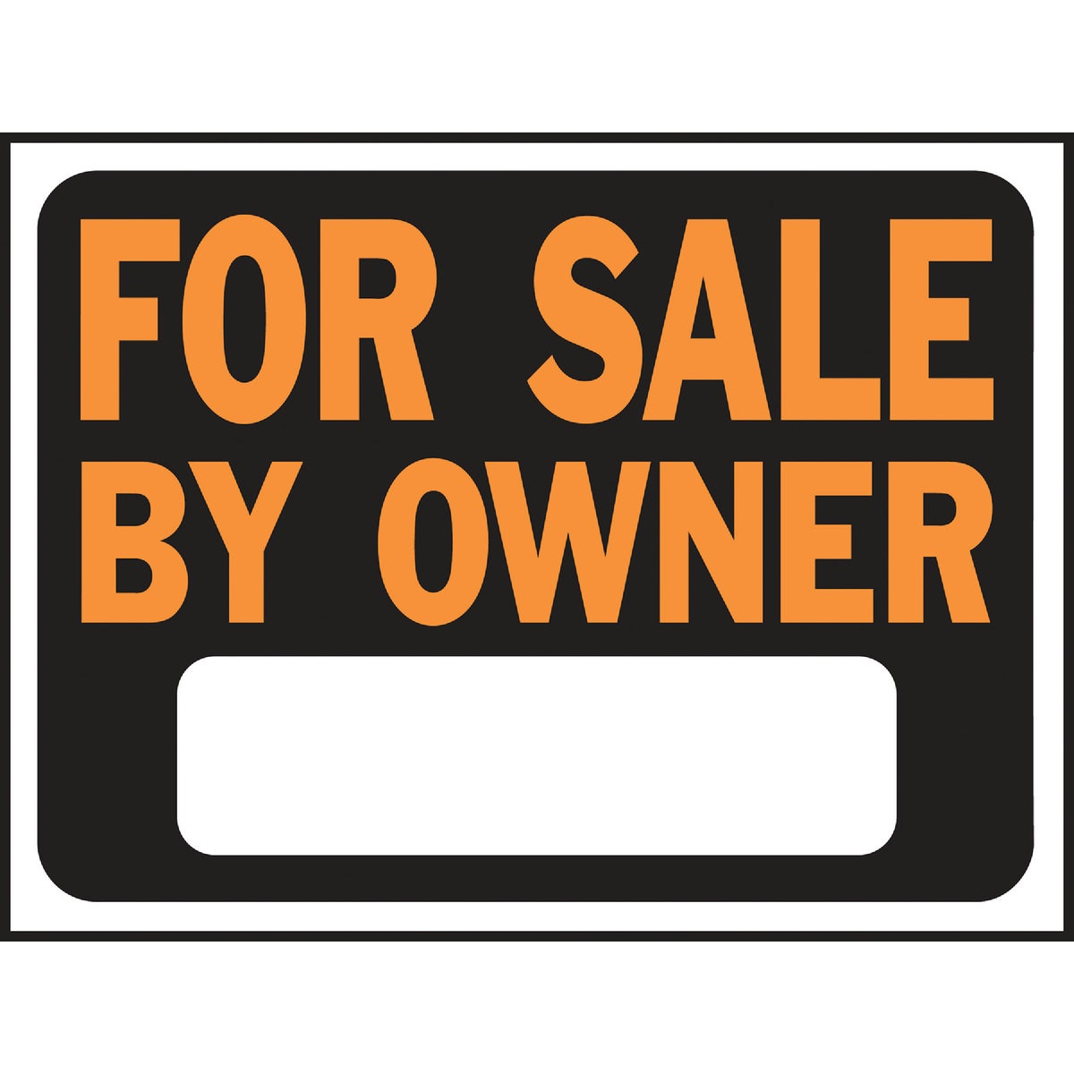 9X12 FOR SALE/OWNER SIGN - 3007 by Hy Ko Prods Co