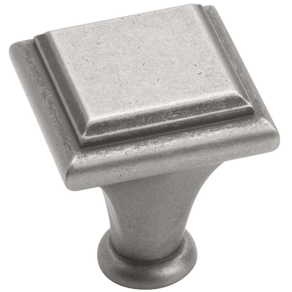 Amerock 1 In. Square Traditional Manor Knob