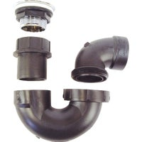 United States Hdwe. BATHTUB DRAIN KIT P-118C