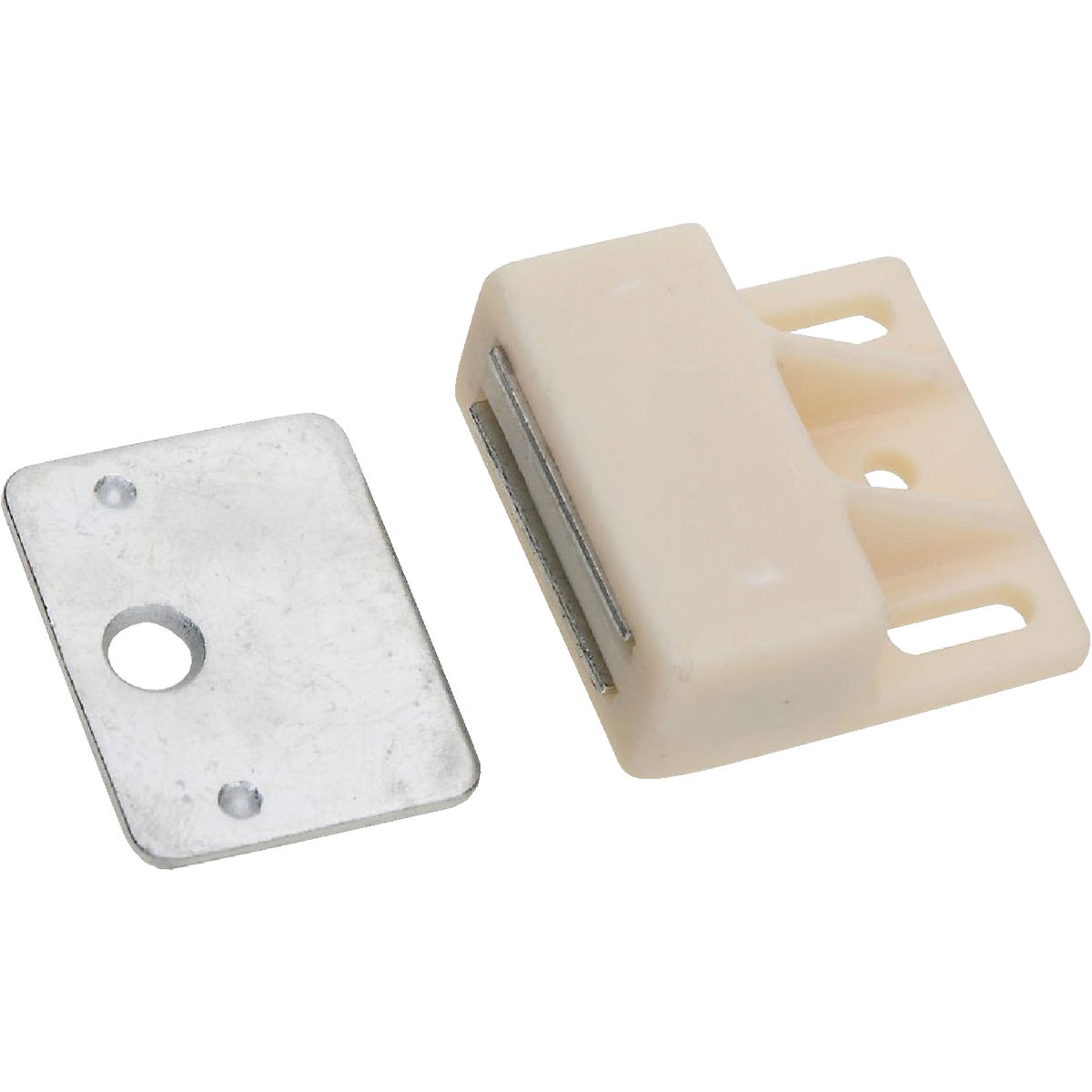 WHITE MAGNETIC CATCH - N149823 by National Mfg Co