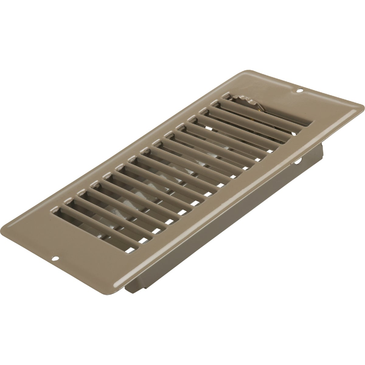 4X8 BRN FLOOR REGISTER - V-056IB by U S Hardware