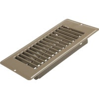 United States Hdwe. 4X8 BRN FLOOR REGISTER V-056IB