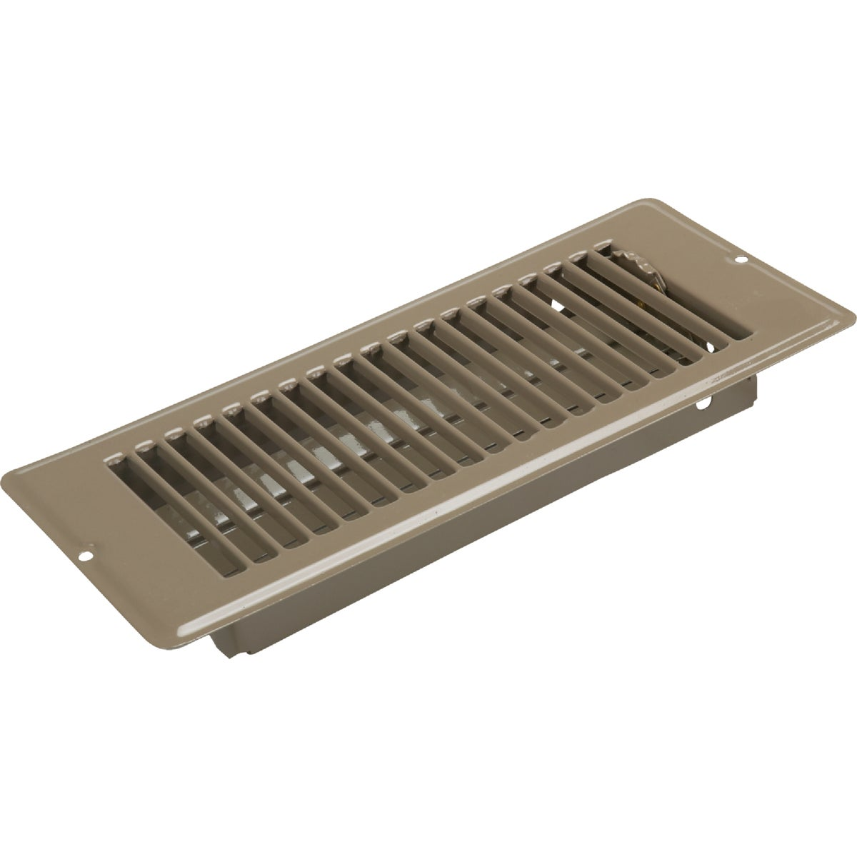 4X10 BRN FLOOR REGISTER - V-057IB by U S Hardware