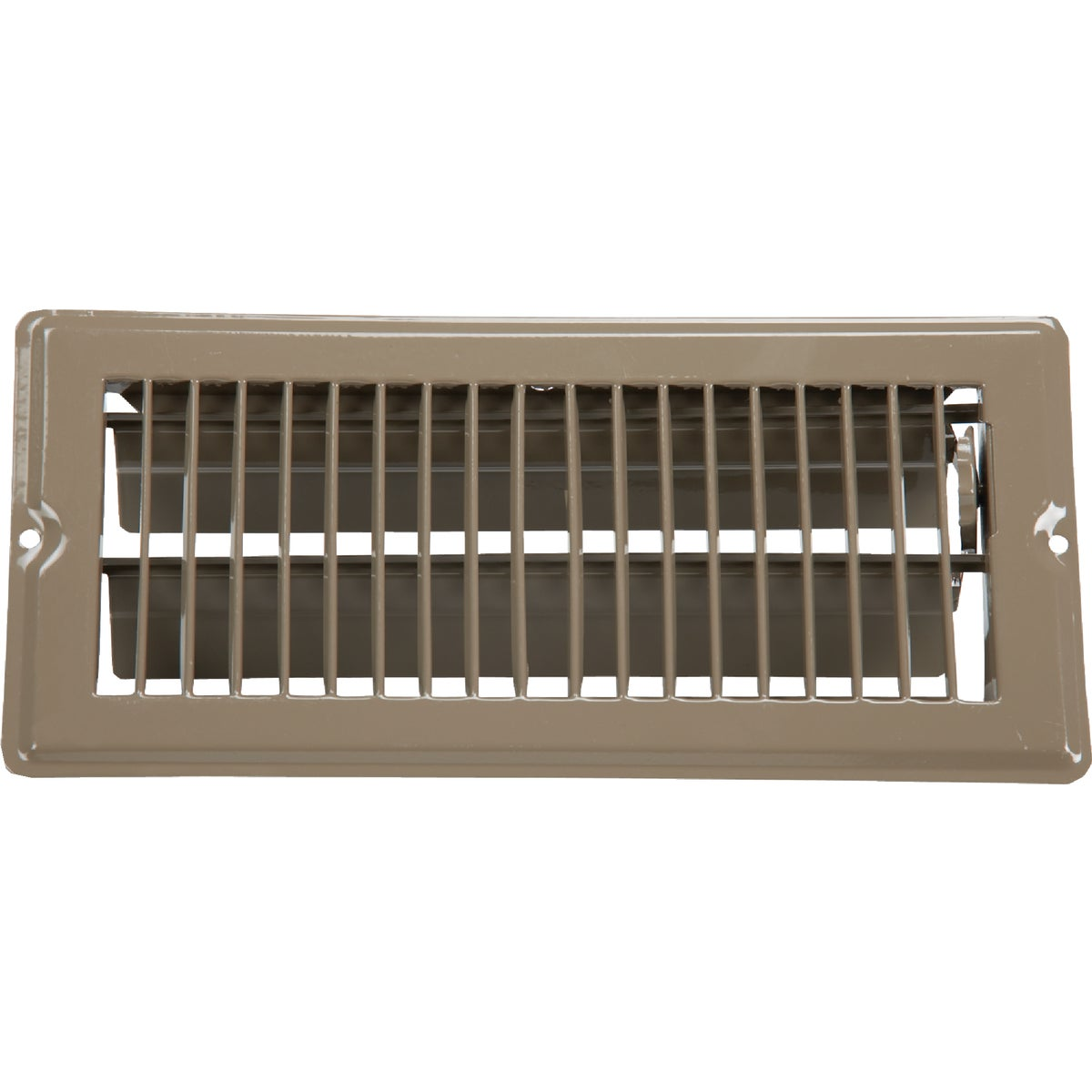 4X10 BRN FLOOR REGISTER - V-103B by U S Hardware