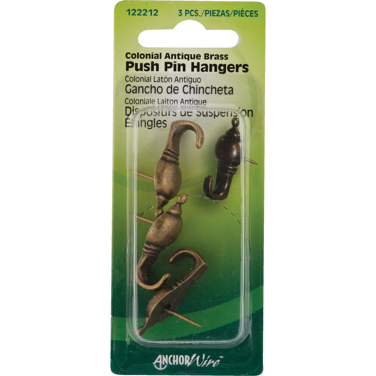AB COLONIAL HANGER - 122212 by Hillman Fastener