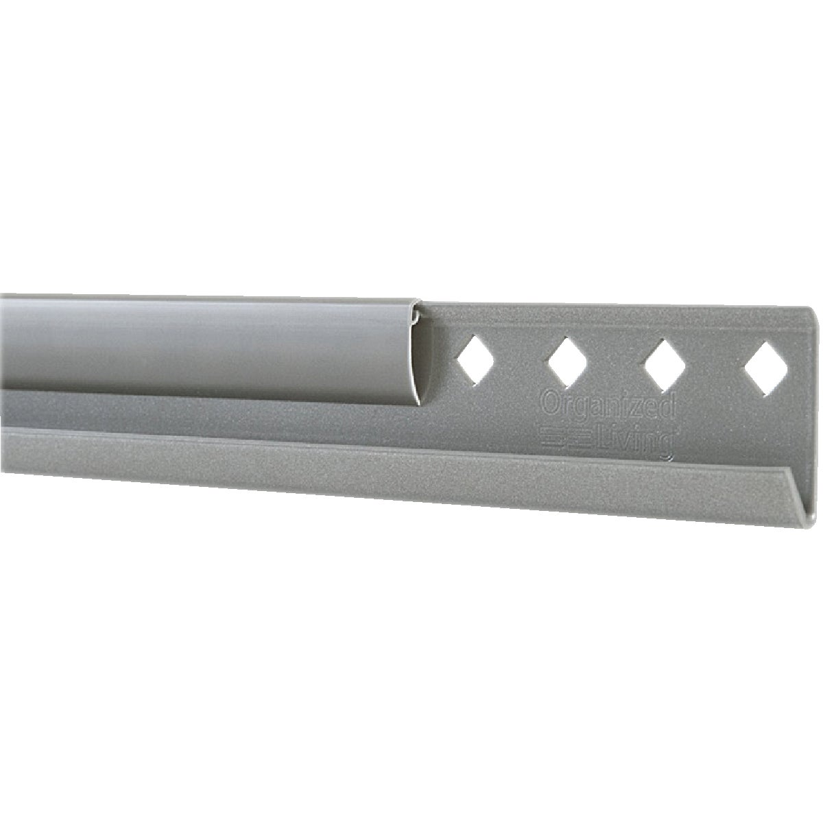"NICKEL 24"" HANGING RAIL - 7913442445 by Schulte Corp"
