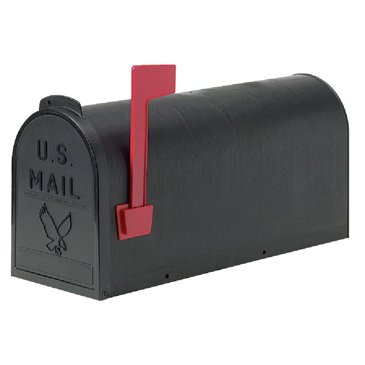 Flambeau Prod. #1 BLACK POLY MAILBOX T-R4501BL