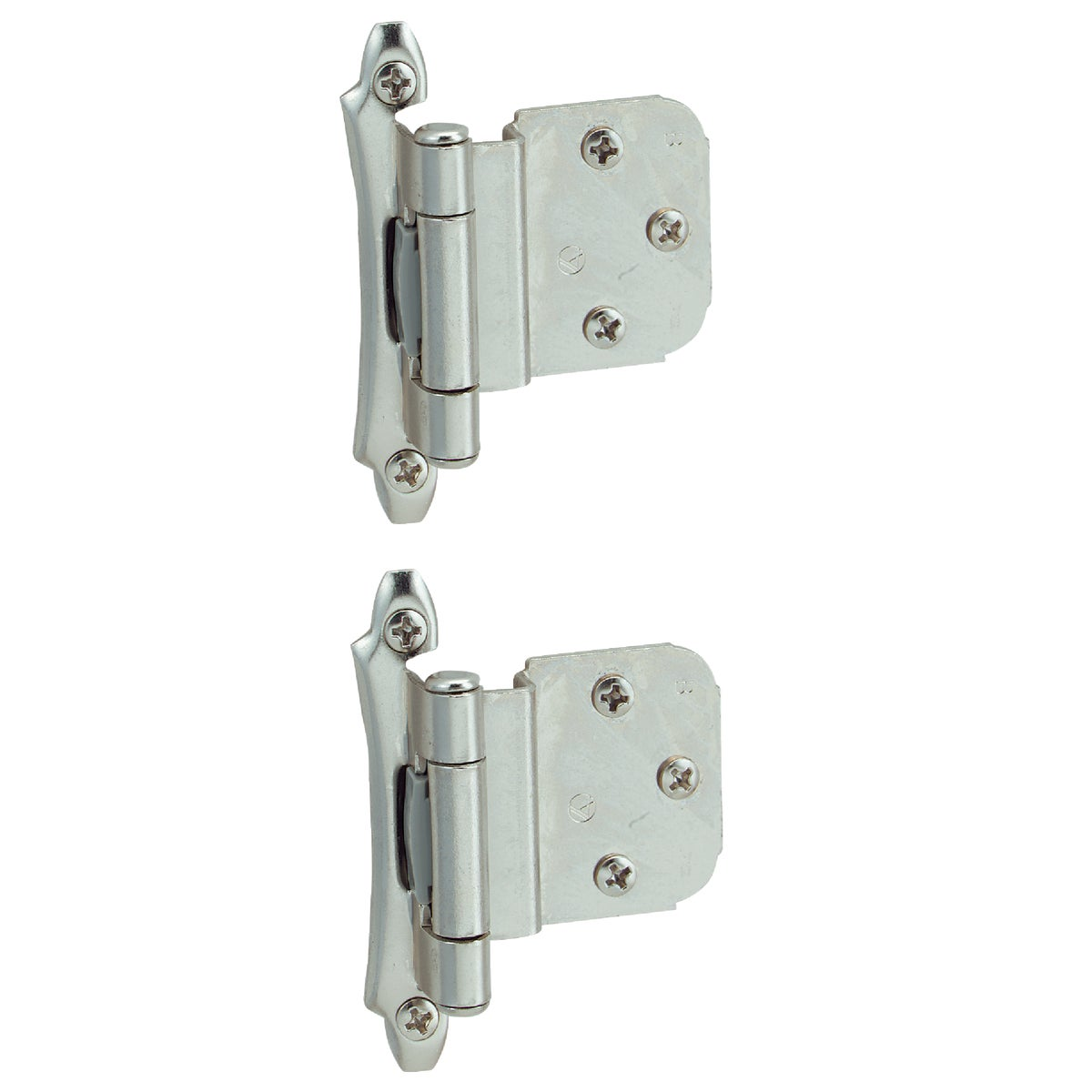"3/8"" CHR INSET HINGE - BP7928-26 by Amerock Corporation"