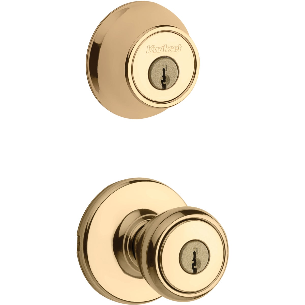 Kwikset PB TYLO 2CYL COMBO PACK 695T 3 CP CODE K6