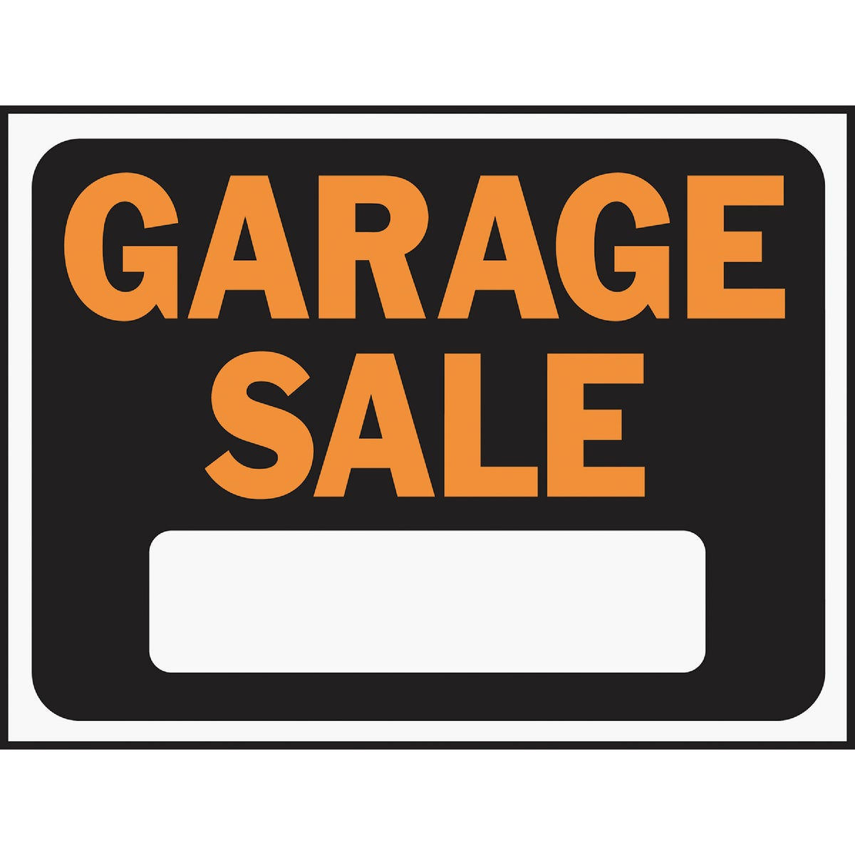 9X12 GARAGE SALE SIGN