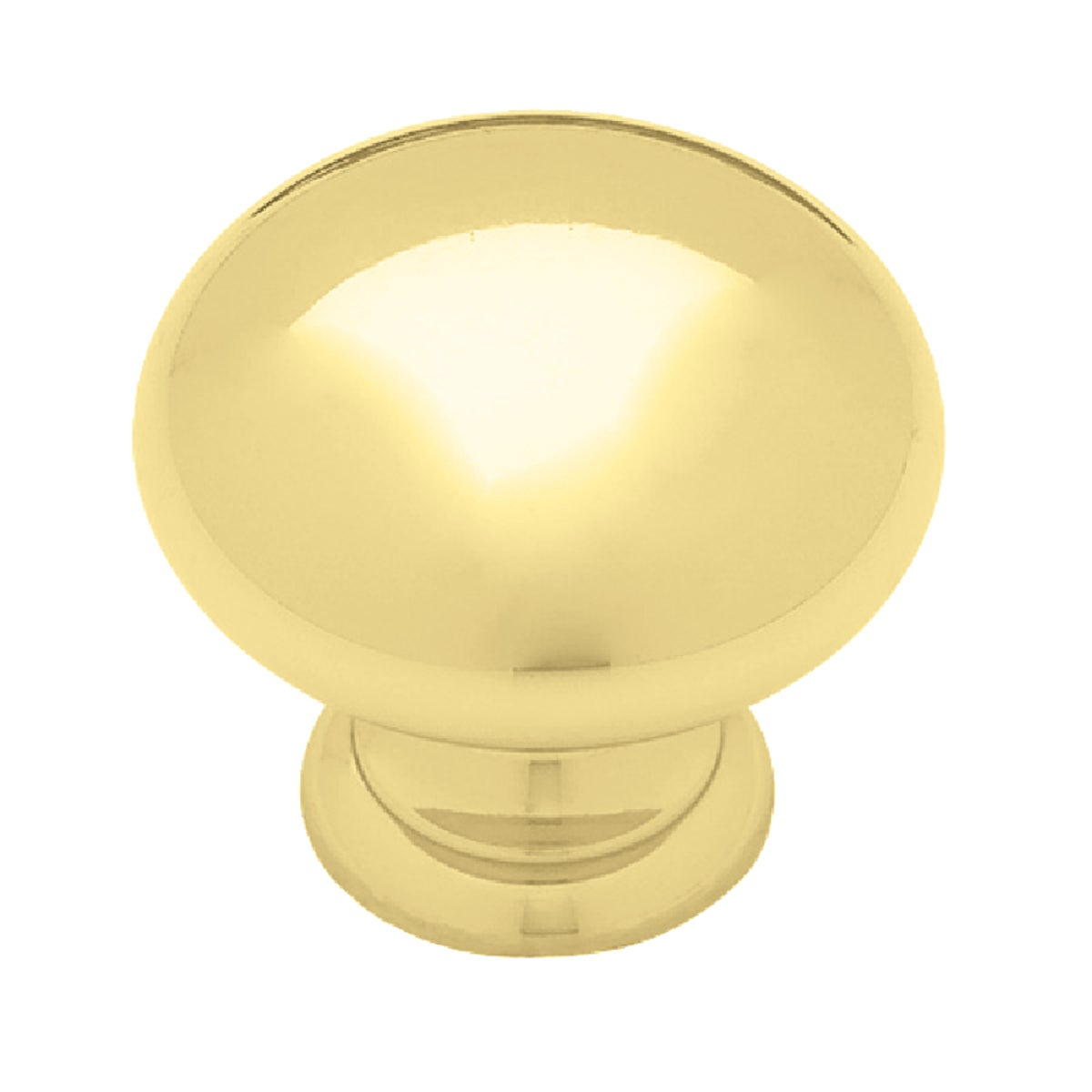 "1-3/8"" SOLID BRASS KNOB - 40701 by Laurey Co"