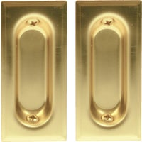 Rectangular Flush Pull