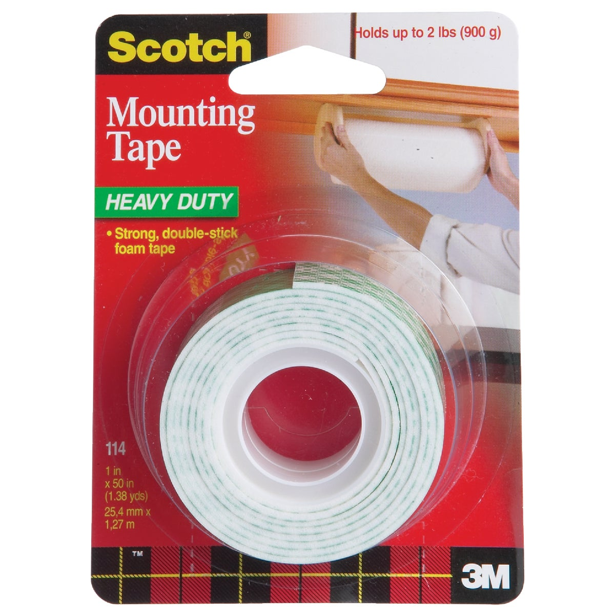 1X50 MOUNTING TAPE - 114DC by 3m Co