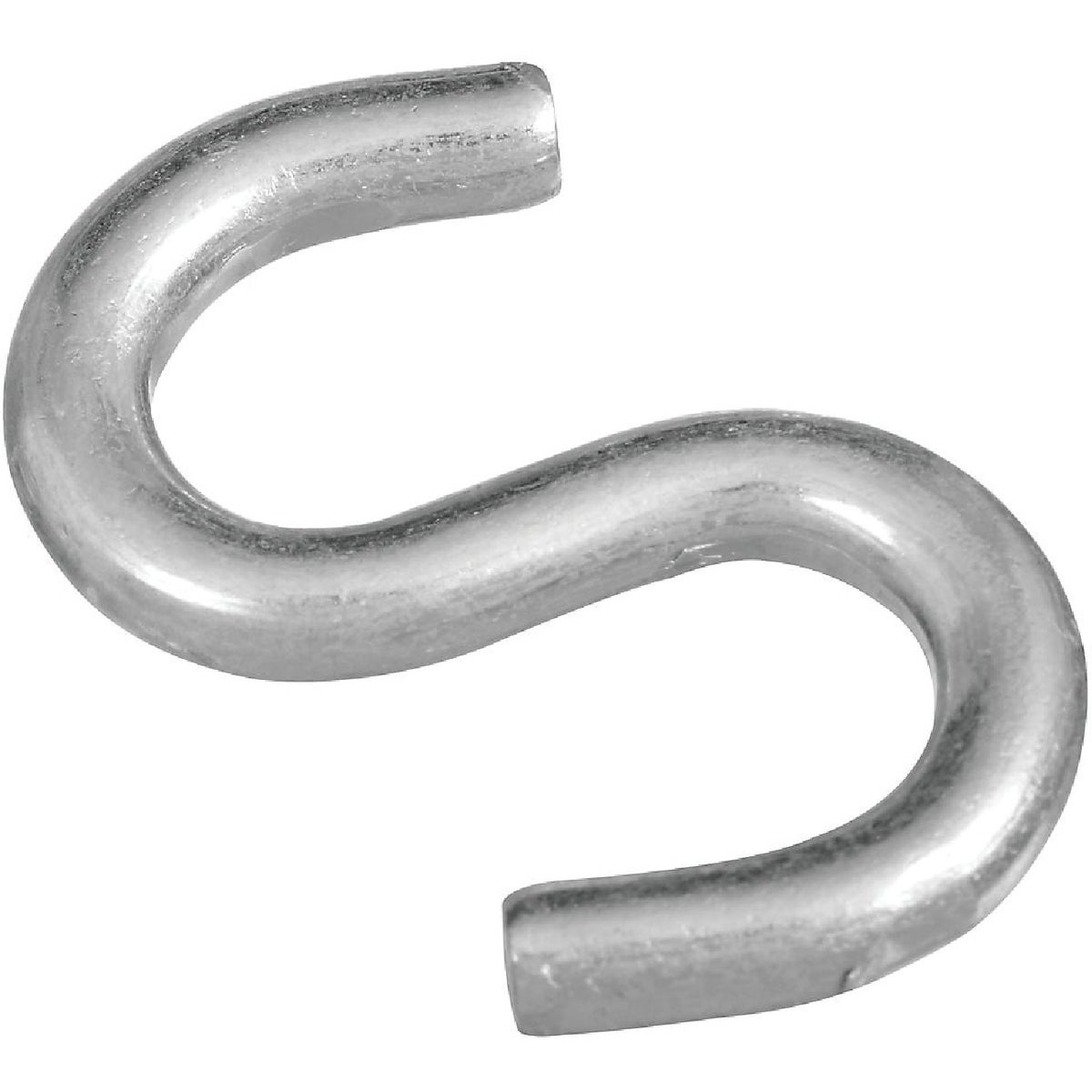 "2"" ZN HEAVY OPEN S HOOK - N121665 by National Mfg Co"