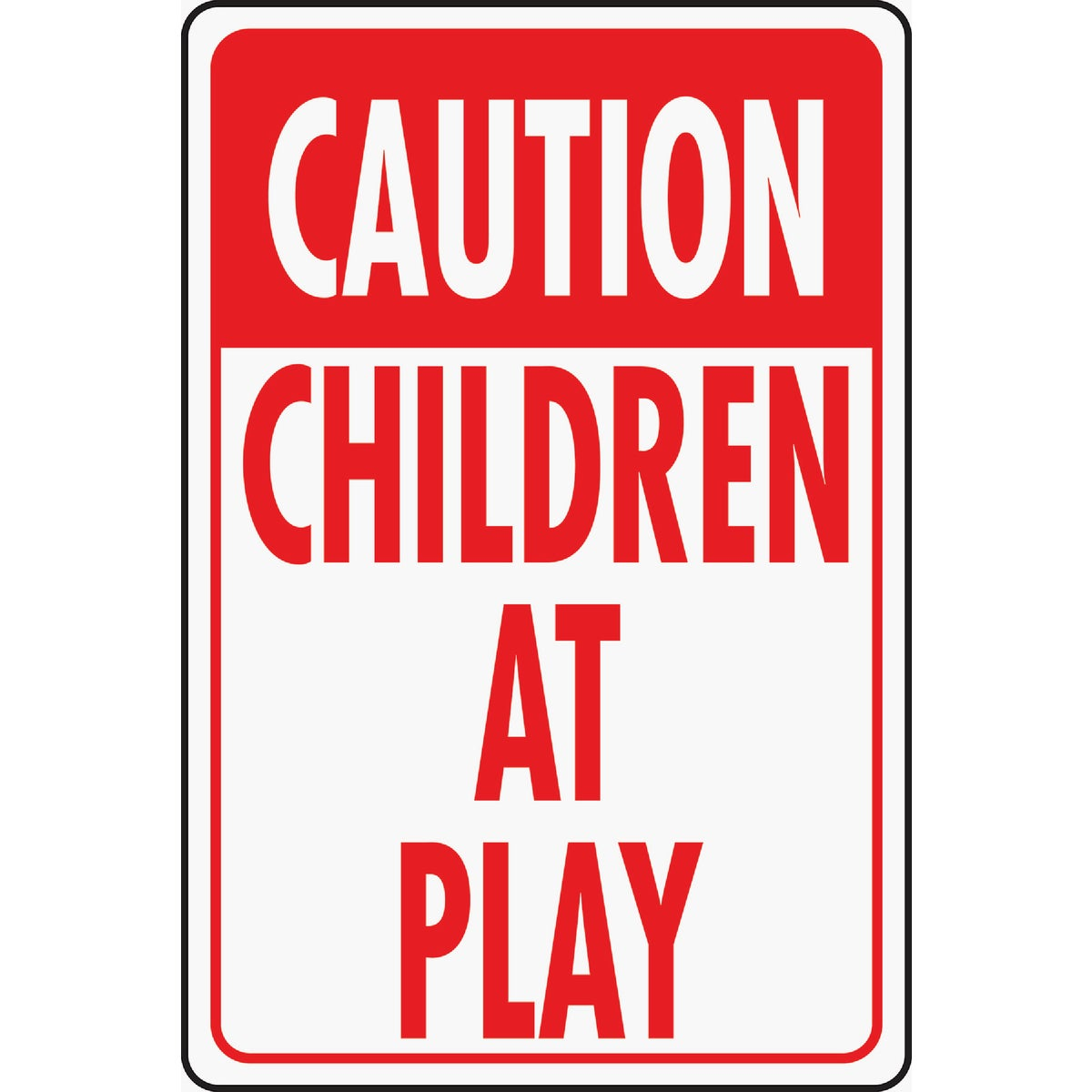12X18CHILD PLAY HWY SIGN - HW-7 by Hy Ko Prods Co