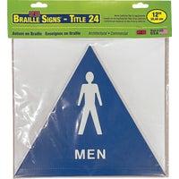 Hy-Ko Restroom Sign, T-24M