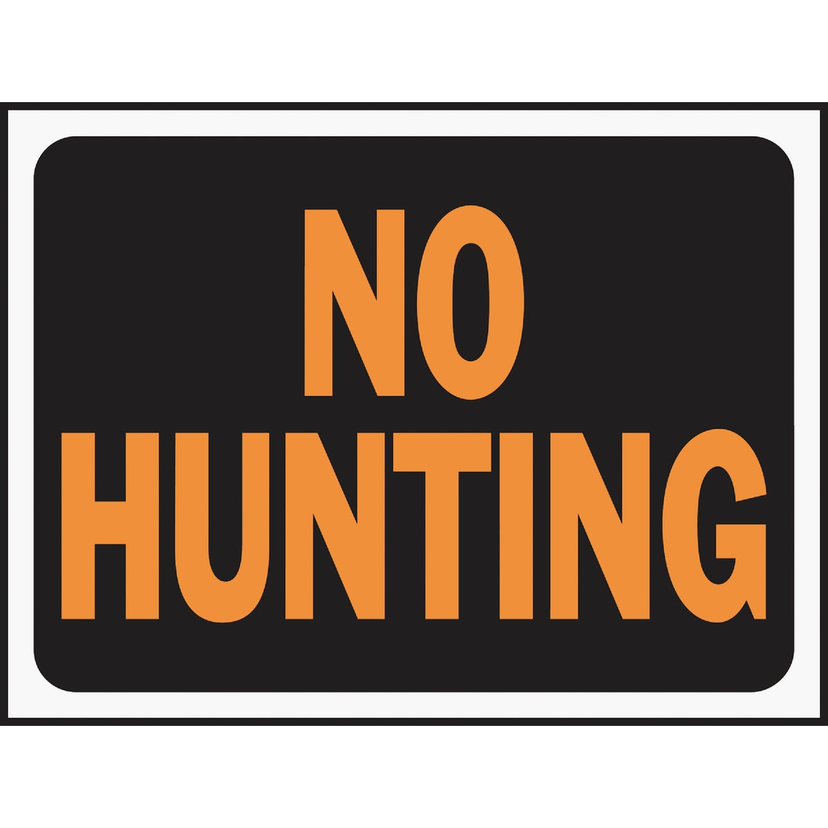 9X12 NO HUNTING SIGN - 3021 by Hy Ko Prods Co