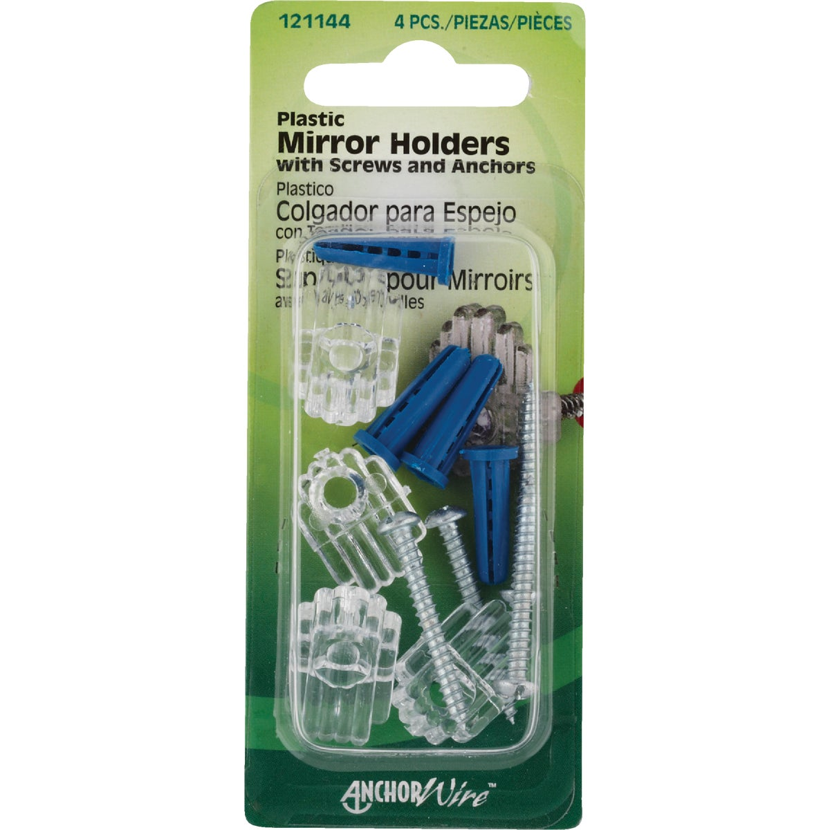 MIRROR HOLDER - 121144 by Hillman Fastener