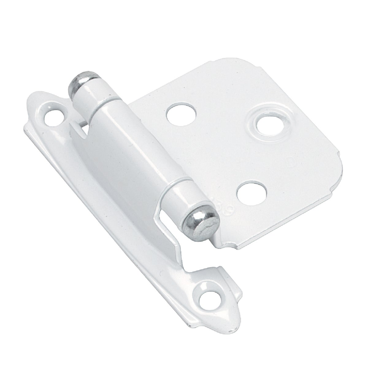 "2-1/4"" WHT OVERLAY HINGE - BP7139-W by Amerock Corporation"